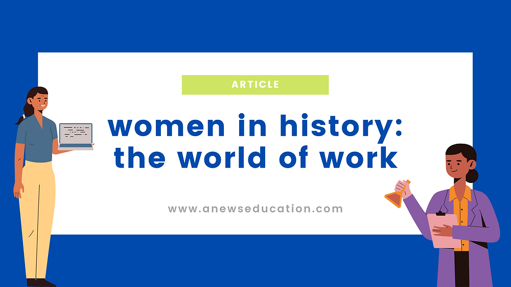 Women in history: the world of work