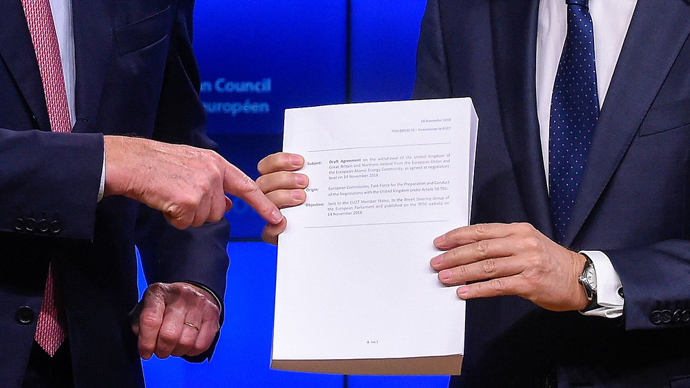 Brexit withdrawal agreement from the European Union