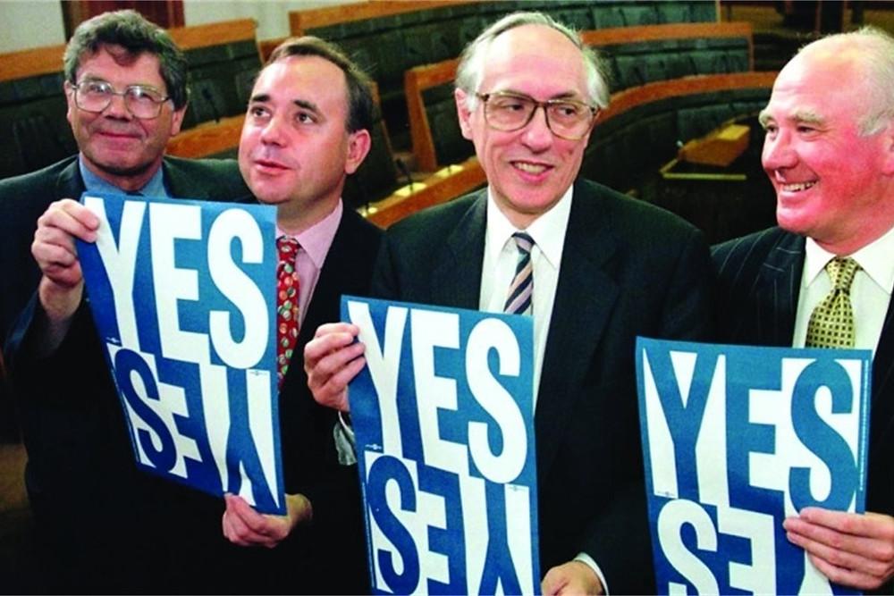 Devolution of Scotland in 1998