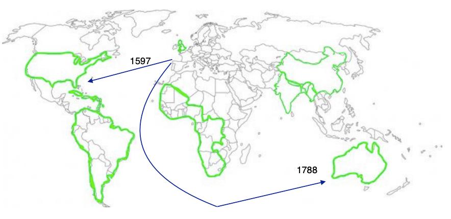 Expanding the British Empire: penal transportation to Australia