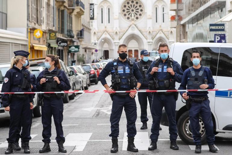 Nice terror attack October 2020