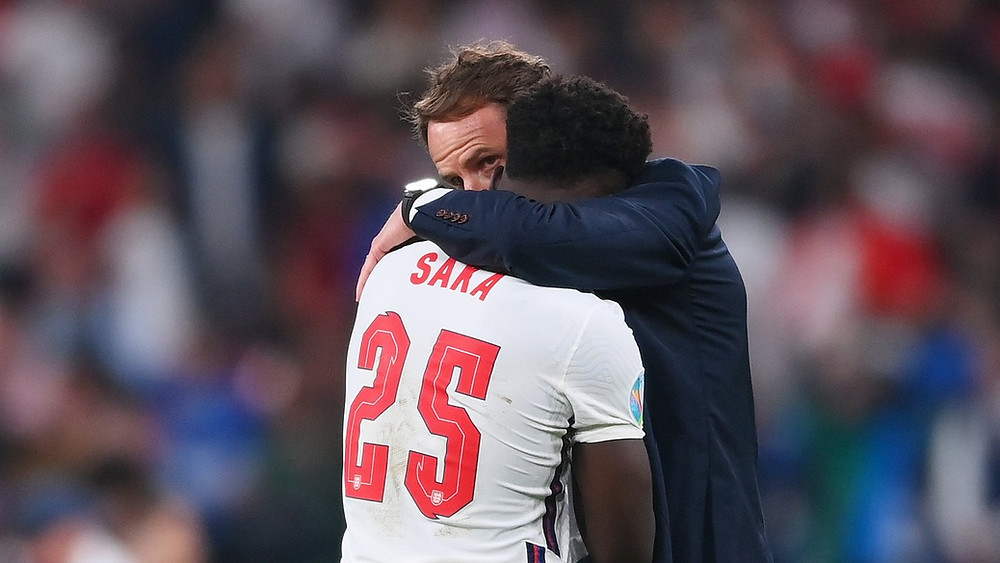 England players racially abused following defeat in the UEFA Euro 2021 final