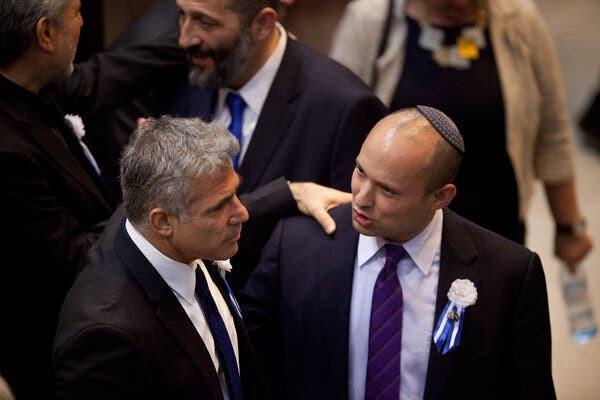 Naftali Bennett and Yair Lapid, Israeli government