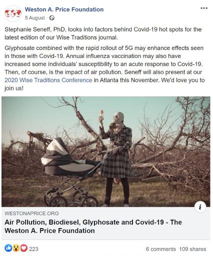 example of fake news covid-19