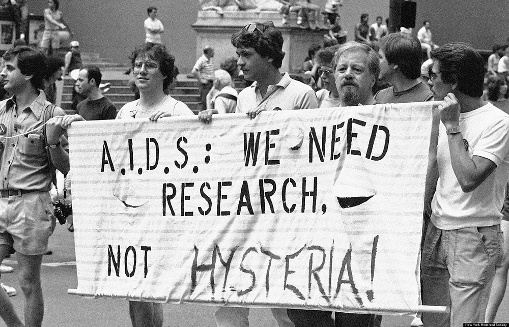 The AIDS crisis and its effect on the LGBTQ+ community in the UK