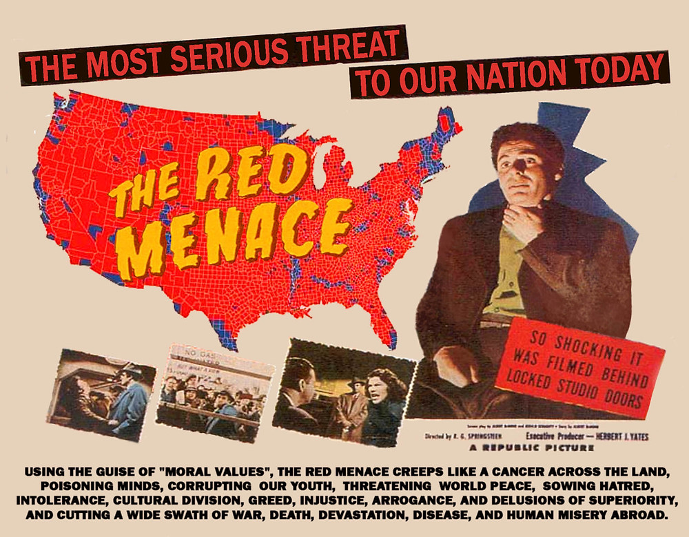 The Red Scare, fear of communism and its impact on American values