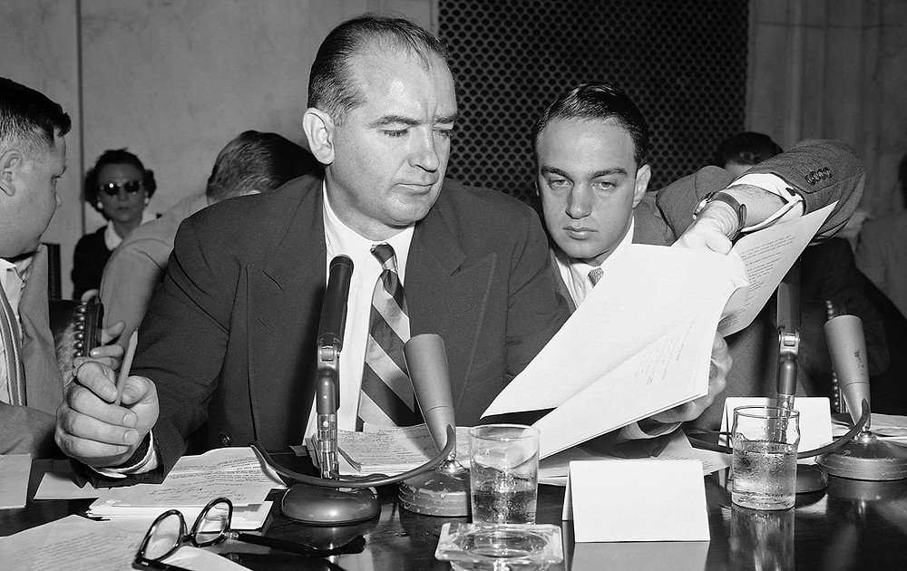McCarthyism and anti-socialism during the Cold War