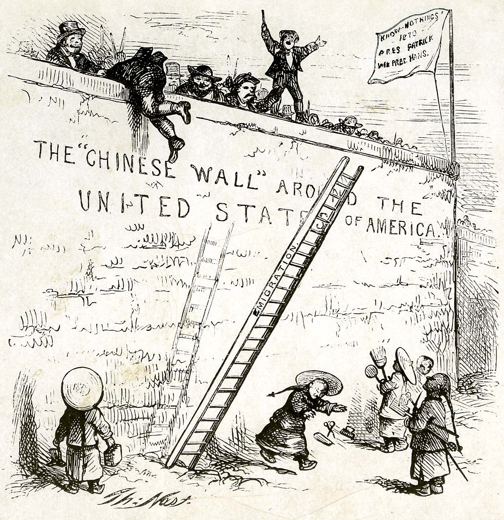 The Chinese exclusion act and immigration to the United States