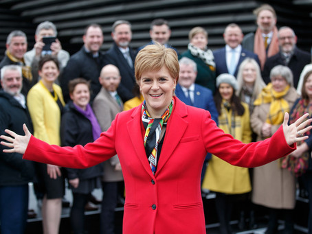 How does the Scottish National Party vote on LGBTQ+ Issues?