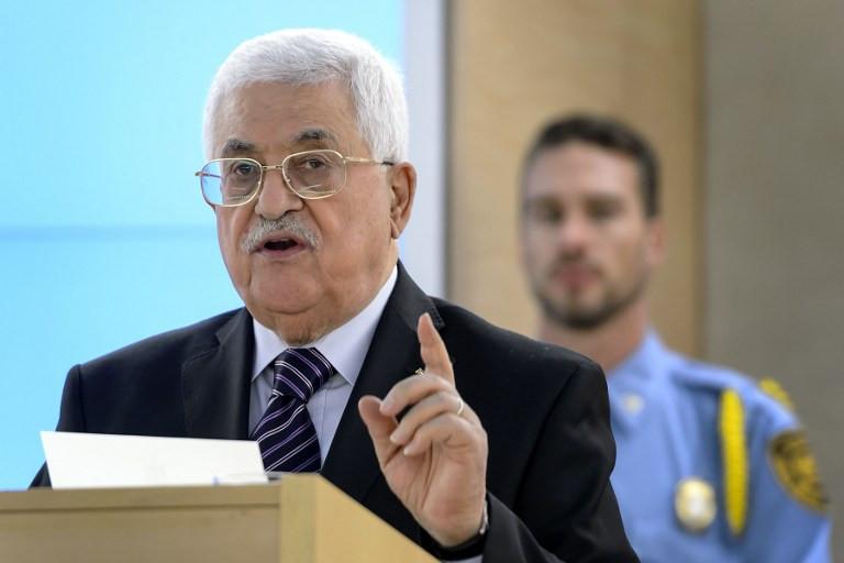 Palestine President Mahmoud Abbas responds to ICC war crimes investigation