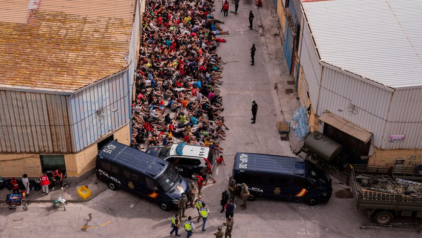 Migrant crisis at Ceuta in Spain and the EU's response