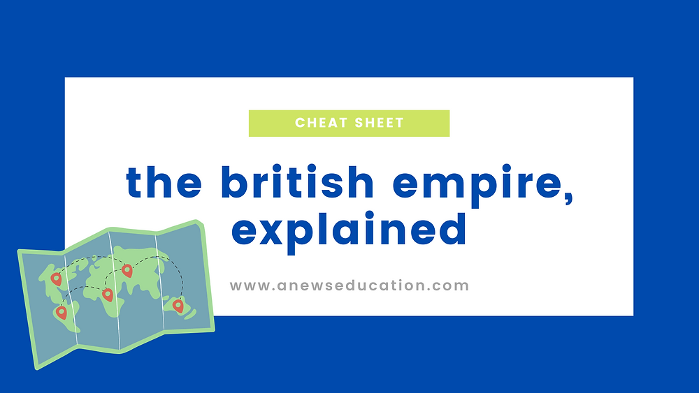 The British Empire, a timeline explaining the rise and fall of the empire