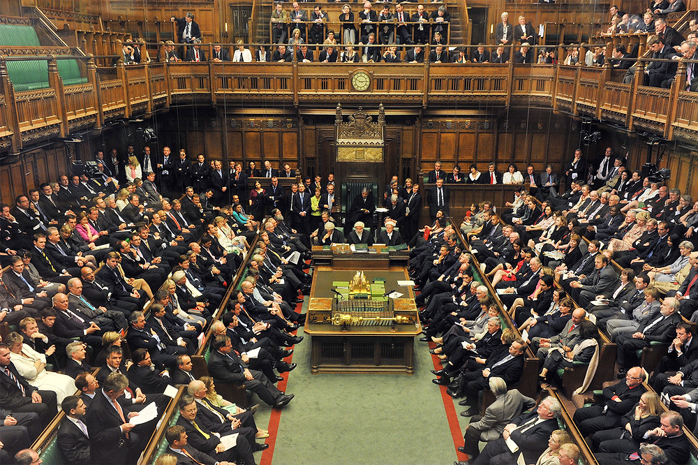 The House of Commons, UK Parliament