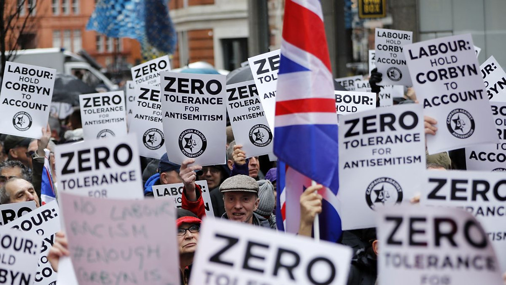 Protests against antisemitism