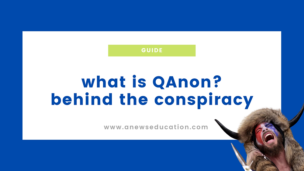 What is the QAnon conspiracy theory?