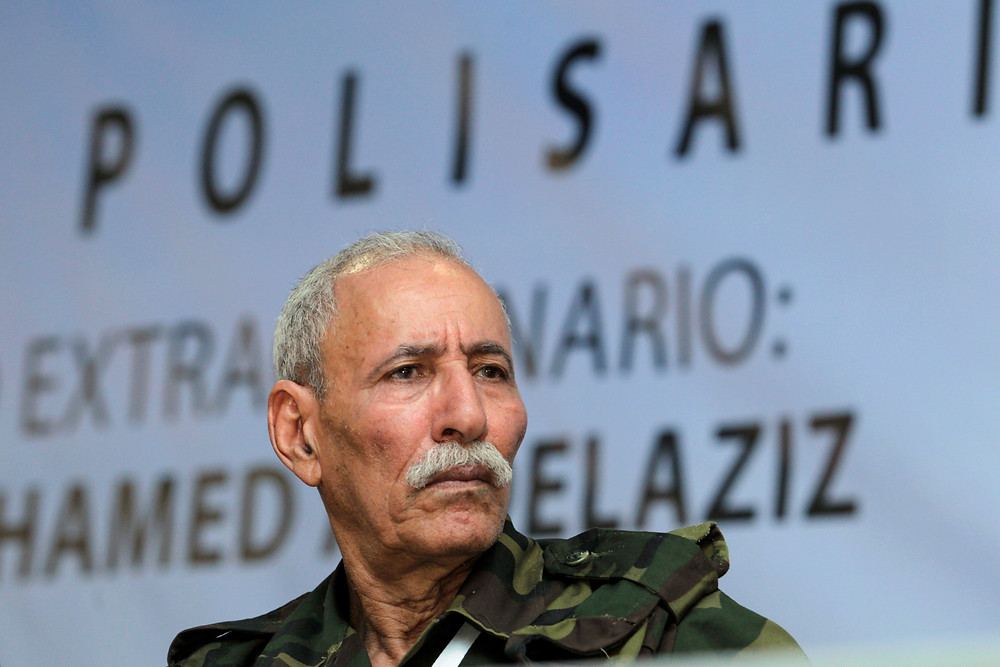 Brahim Ghali and the Polisario Front in Morocco