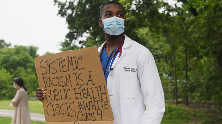 Systemic racism is a public health crisis, disparities in the impact of Covid-19 on people of colour