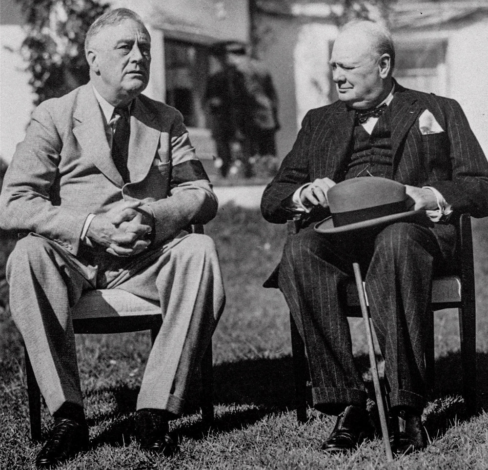 Special relationship between the US and the UK, Winston Churchill