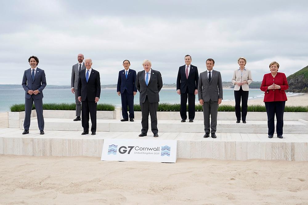 G7 2021 summit in Cornwall