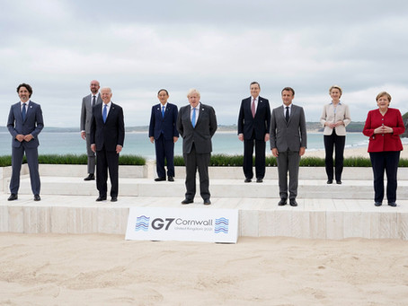 Key Points from the 2021 G7 Summit in Cornwall: Vaccines, Climate Change and China