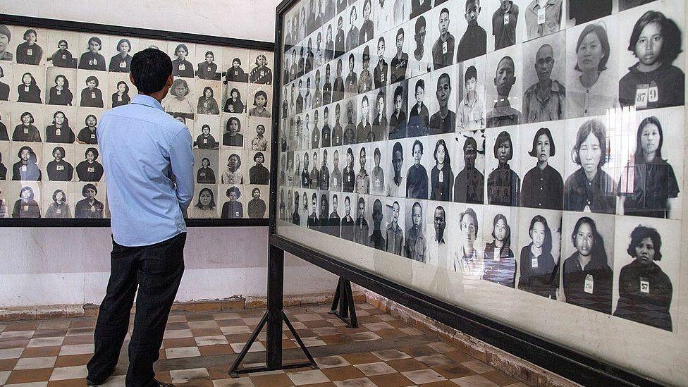 Tuol Seng Genocide Museum, Cambodia