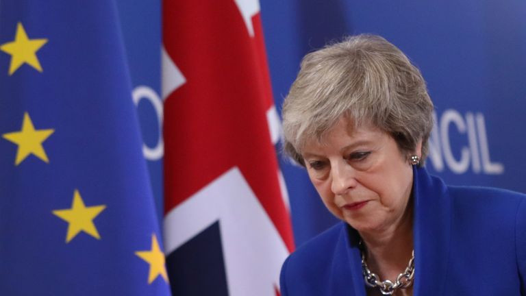 Theresa May and the Conservatives' perspectives on Brexit