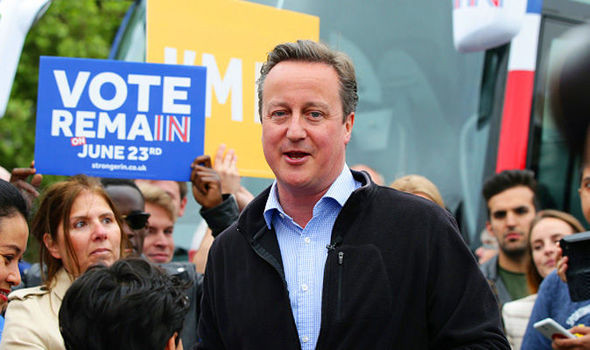 David Cameron backs Remain in the Brexit campaign