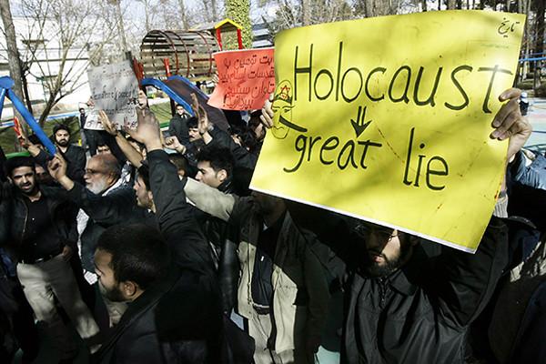 Holocaust denial and antisemitic conspiracy theories