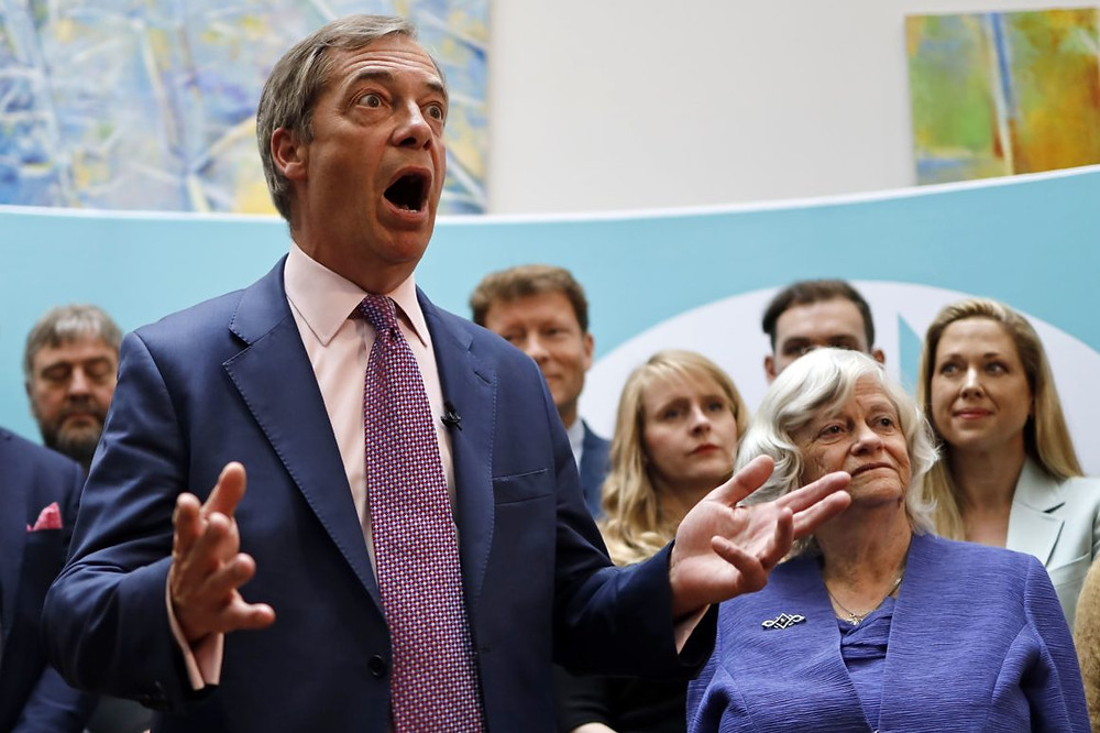 Nigel Farage and Brexit Party's perspectives on Brexit