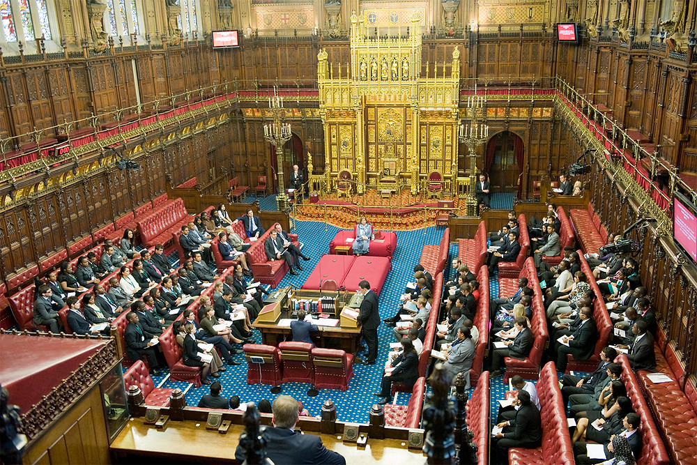 The House of Lords, UK Parliament