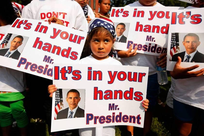 US immigration policies under Barack Obama and Donald Trump