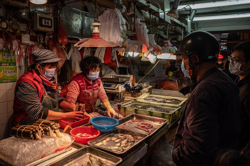 Crowded conditions in wet markets the cause of Covid-19