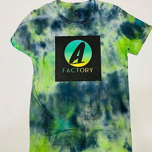 Afactory - Green & Blue Tye Dye