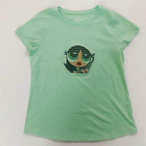 Green Power Puff Girl T-Shirt
