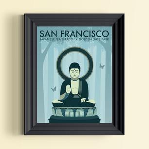 san fransisco art print