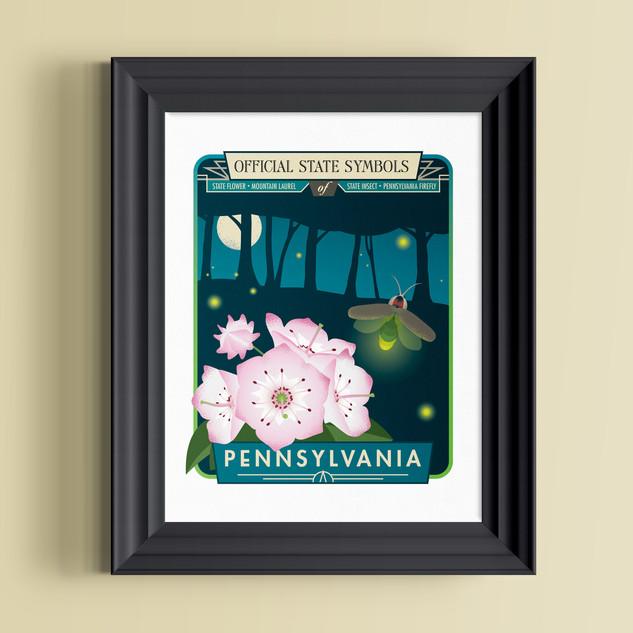 pennsylvania art print