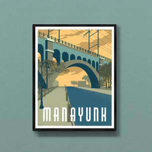 manayunk art print poster wall decor