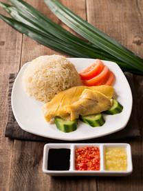 Hainanese hicken Rice
