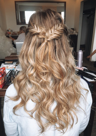 calgary wedding hair