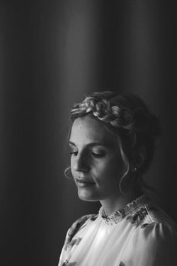 Calgary Bridal hair - on location bridal