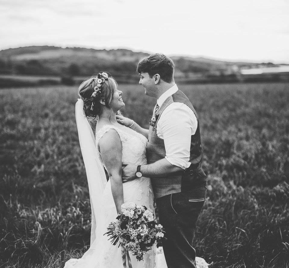 bride and groom calgary wedding luxury bride hair