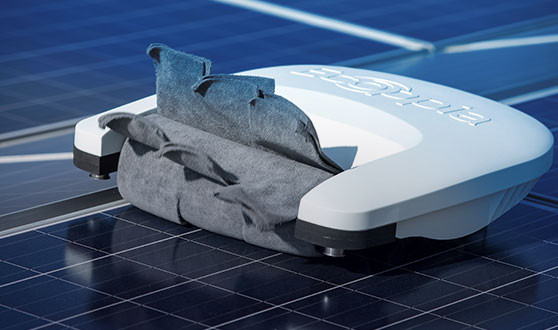 Solar Pannel cleaning Robots