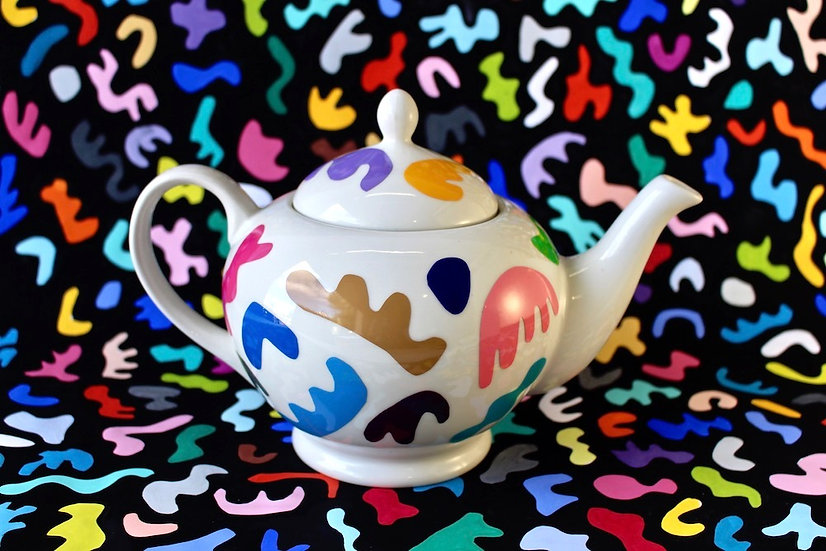 Art Tea Pot