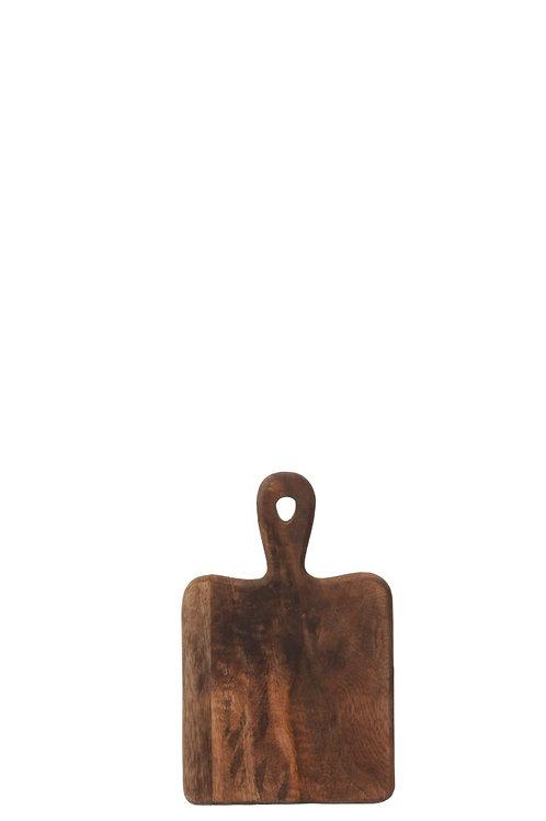 Planche A Découper Rectangle Bois Marron Fonce Small