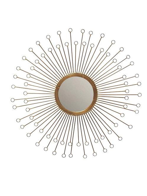 """Miroir laiton """"Eclat - D57cm"""