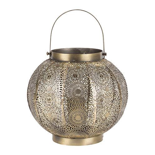Lampe lanterneROSALIE Dorée Fer -D24