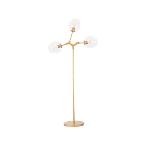 LAMPADAIRE FER OR D73 H150CM