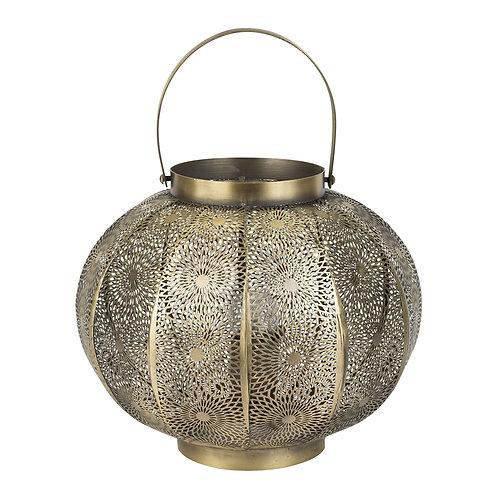 Lampe lanterne ROSALIiDoréeFer -D30