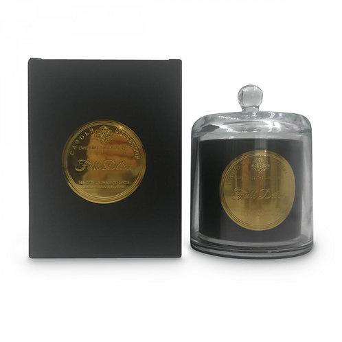 Bougie cloche noire Full Detox D10 x H13cm