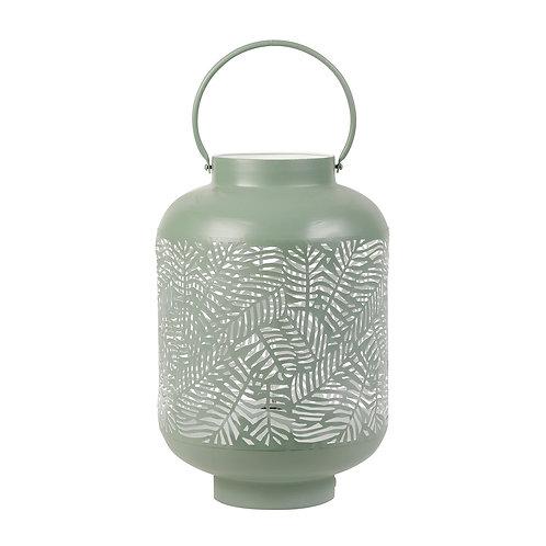 Lampe lanterne  Vert d'eau + blanc